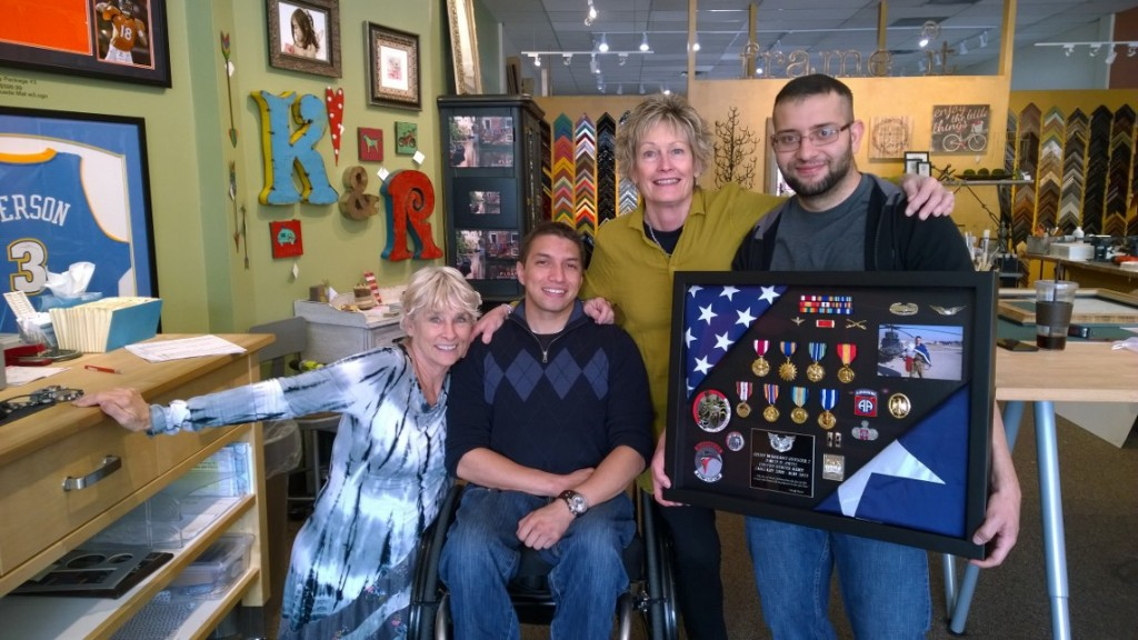 Framing Memories for Independence Day at Frame It in Littleton, CO