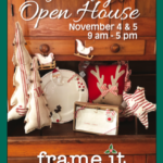 Save the Date for our Holiday Open House Nov 4 & 5